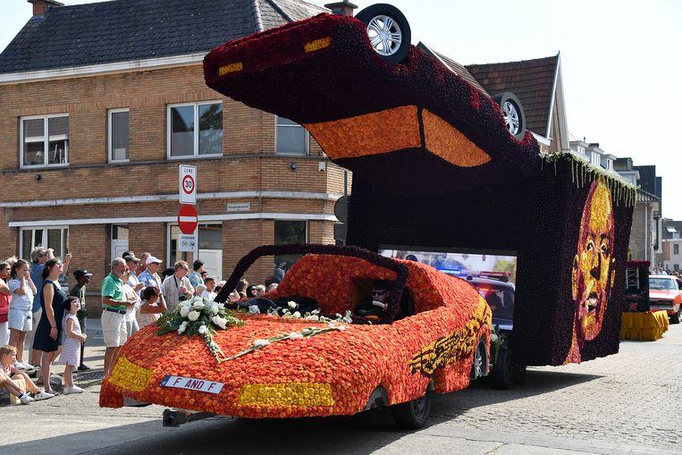 De wagen van de Otterstraat, rond The Fast and the Furious, toont ook een groot televisiescherm.