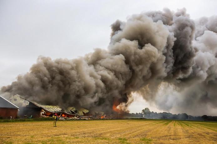 Stalbrand in Heusden