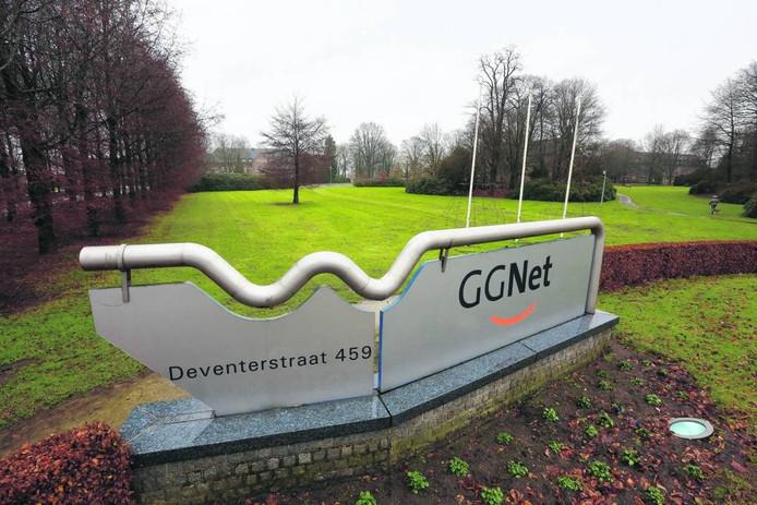 Het terrein aan de Deventerstraat, waar ook GGNet gehuisvest is.
