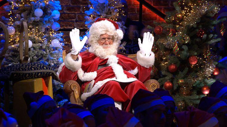 Geen dokter morgen in de spelshow van Philippe Geubels, wel Jacques Vermeire verkleed als kerstman.