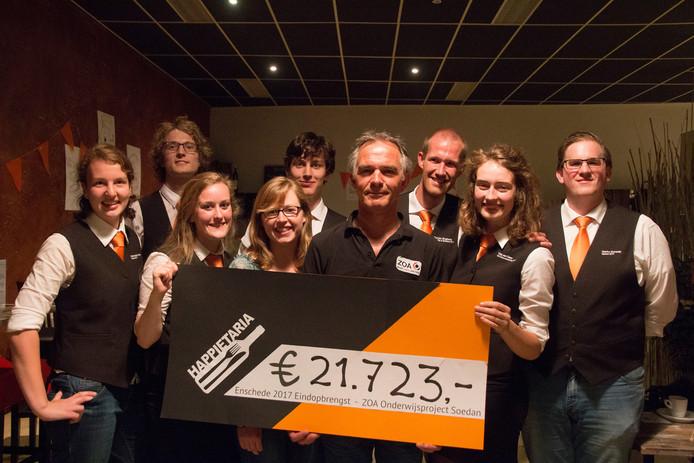 Opbrengst van de Happietaria in Enschede: 21.723 euro