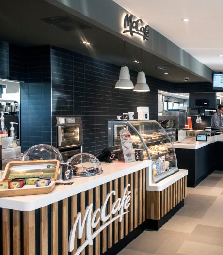 Vanaf vandaag ook speciale koffies in McDonald's Broerstraat