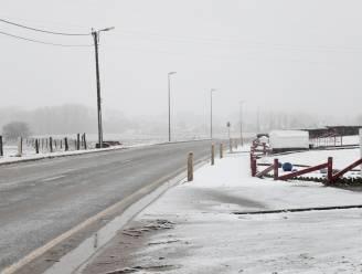 Daar is de eerste sneeuw van 2021! Pajottenland wordt wakker onder sneeuwtapijt