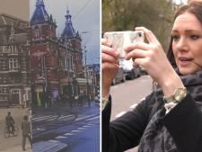 Sharon laat op Instagram het Amsterdam van vroeger en nu zien