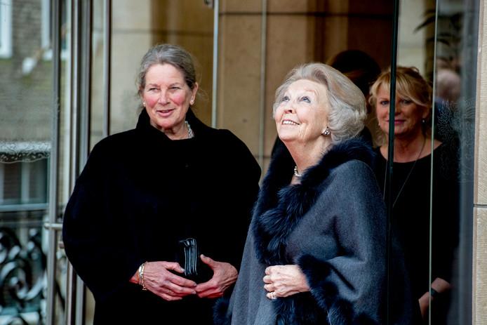 Prinses Beatrix in Vlaardingen.