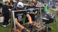 Ondanks moeizame start: genieten van barbecuefestival in Stadspark