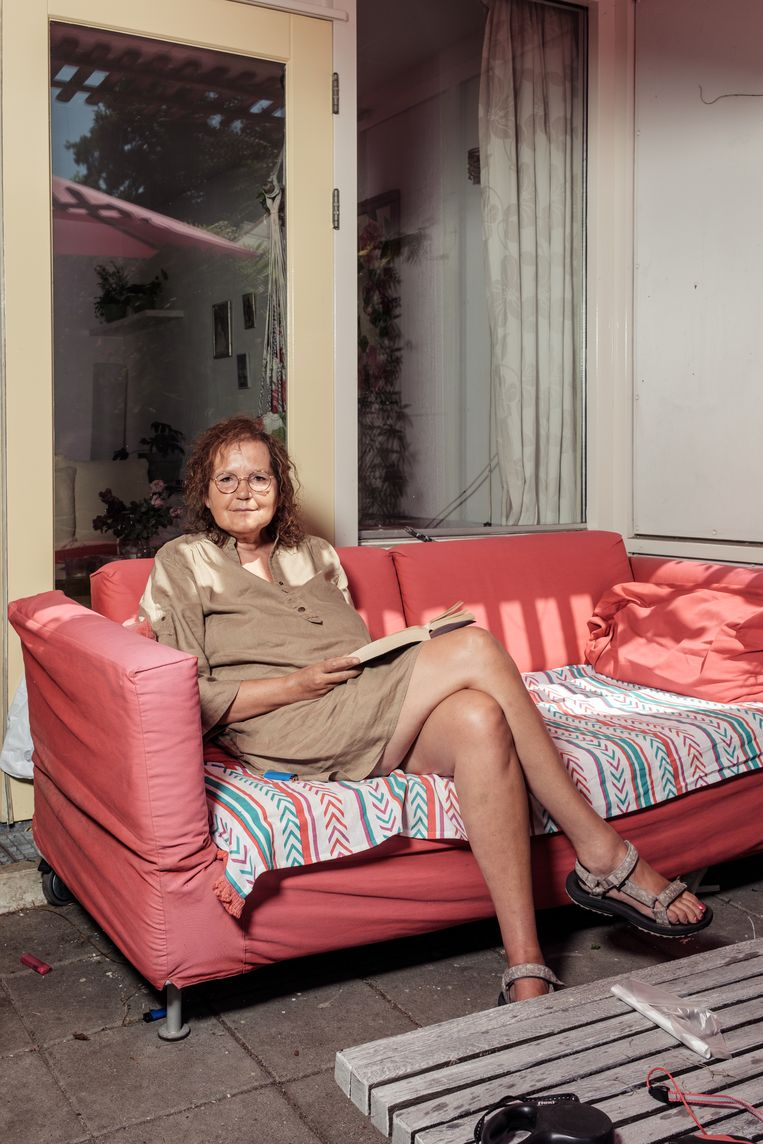 Els van Mook: 'Juist in deze tijd heb je je vrienden nodig.' Beeld Jakob Van Vliet