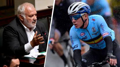 """Jean-Marie Dedecker niet te spreken over top drie Sportman van het Jaar: """"In België kennen we nog maar twee sporten: voetbal en wielrennen"""""""