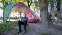 """Urban camping zet toch door met beperkt aantal tentjes: """"Mensen inspireren niet op te geven"""""""