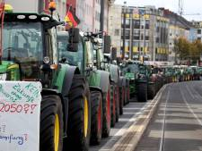 Duitse boeren protesteren ook massaal