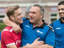 AZSV neemt tegen SDC Putten afscheid van trainer Dennis van Toor