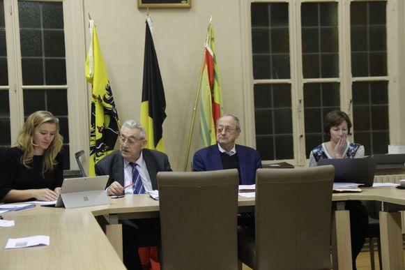 Robert De Meuleneire en Joseph Browaeys zaten nog één keer zij aan zij tijdens de gemeenteraad in Horebeke.