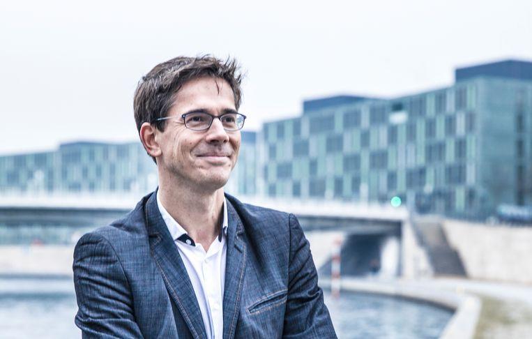 Bas Eickhout, GroenLinks-lijsttrekker en Spitzenkandidat namens de Europese Groenen. Beeld Marlena Waldthausen
