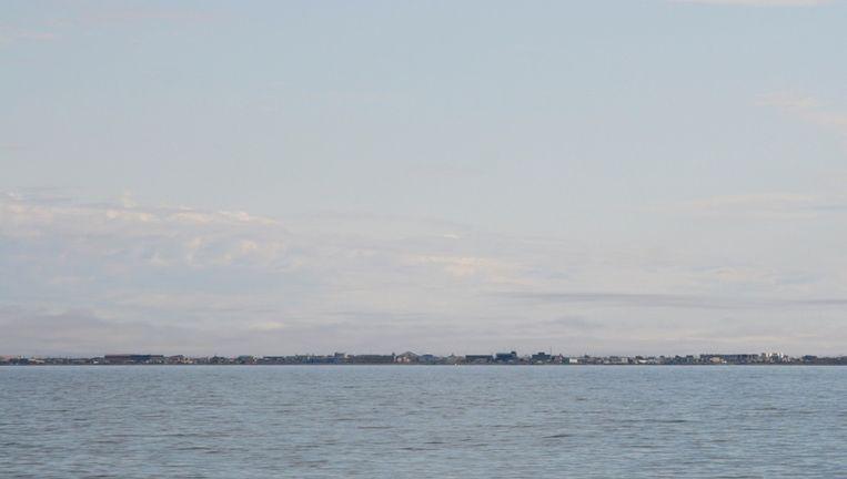 Land in zicht: aan de horizon gloort Barrow, Alaska Beeld Jorien Vonk