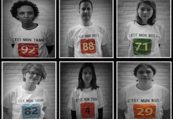Les députés Ecolo ont arboré ce t-shirt durant la séance plénière.