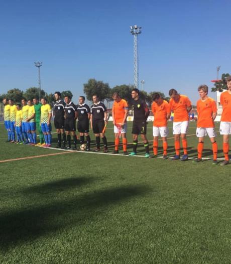 Panneman verliest met Oranje kwartfinale op WK CP-voetbal