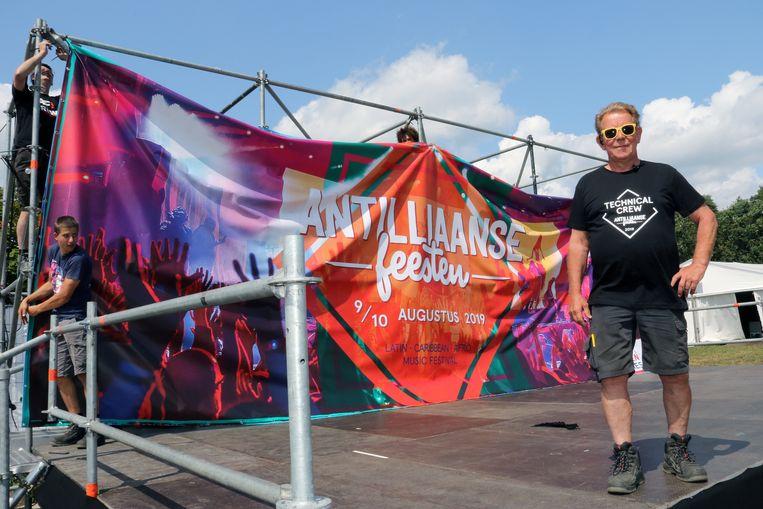 Will Schroer is al 25 jaar betrokken bij de Antilliaanse Feesten.