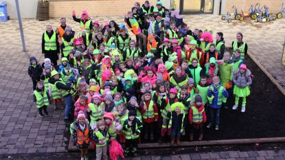 Fluodag maakt Regenboogschool extra kleurrijk