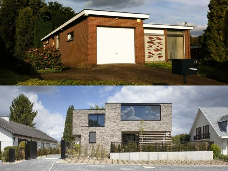 Interieurarchitecte Marie-An Becks  verbouwde een bungalow uit de jaren 60.