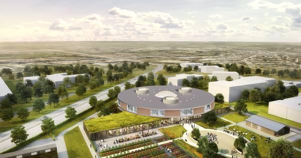 Nieuwbouw AOC Oost wordt groene oase