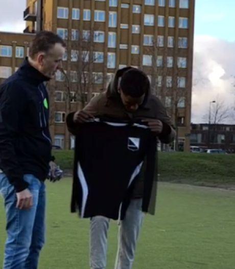 In Markelo zijn ze blij met de nieuwste aanwinst van FC Twente: Nathan Markelo
