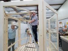Portamanger uit Rivierenland helpt horeca:  romantisch, droog en coronaproof buiten tafelen