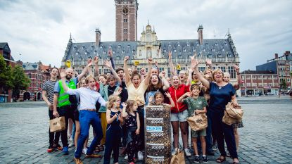 'Make Belgium Great Again' ruimt 50.000 sigarettenpeuken op in Leuven