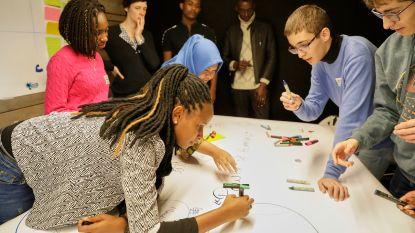 Jongeren uit de hele wereld verzamelen bij Colruyt Group om te praten over belangrijke thema's