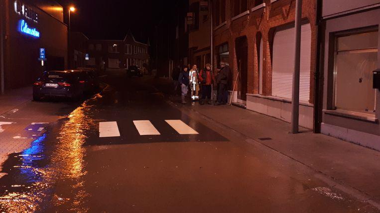 De Fabriekstraat in Sint-Lievens-Houtem.