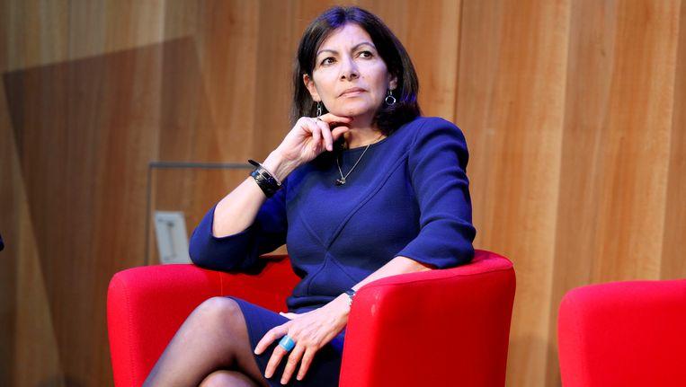 Parijs burgemeester Anne Hidalgo.