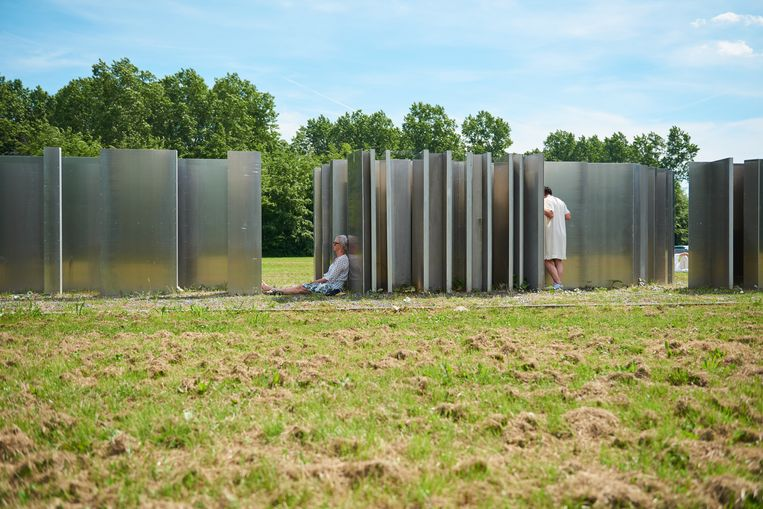 Daniel Libeskind – Polderland Garden of Love and Fire (1996). Beeld Bram Schilling