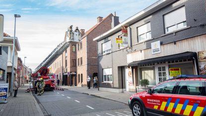 Daalstraat even afgesloten voor brandweer