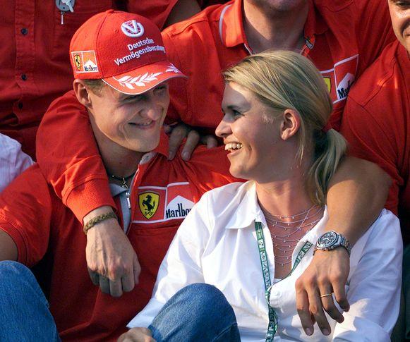 Corinna en Michael Schumacher.