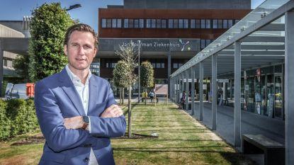 """Algemeen directeur Frederik Chanterie over hoe 'zijn' Jan Yperman Ziekenhuis de coronaperiode heeft beleefd: """"Dankzij de flexibiliteit van velen hebben we deze crisis goed doorstaan"""""""
