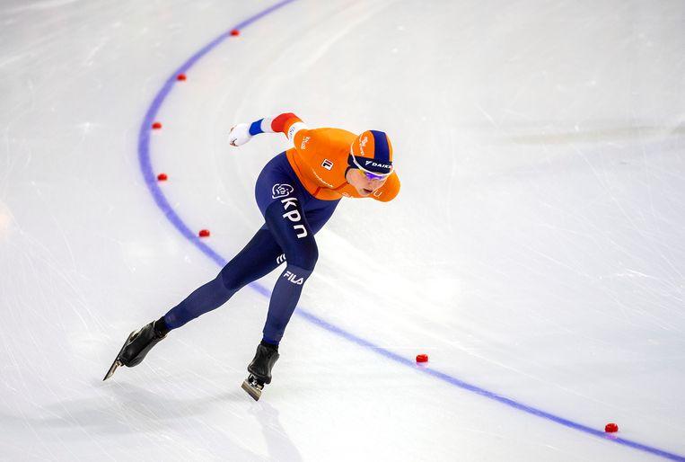 Melissa Wijfje: wel Nederlands kampioen, geen Europese titel. Beeld Klaas Jan van der Weij / de Volkskrant