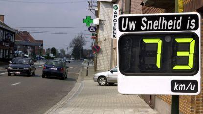 Snelheidsmeters moeten weggebruikers sensibiliseren