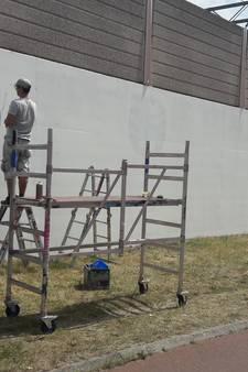 Guus Meeuwis in PSV-shirt vereeuwigd op muurschildering