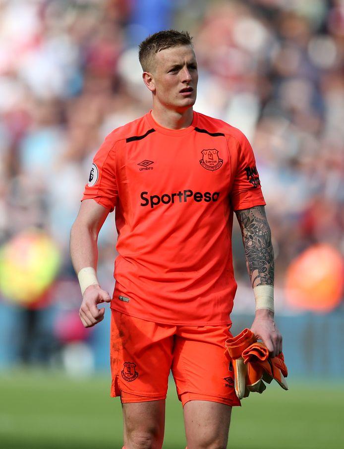 Jordan Pickford (Everton) wordt zeer waarschijnlijk de eerste doelman van Engeland op het WK.