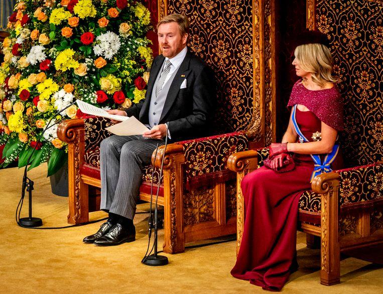 Prinsjesdag vindt dit jaar vanwege het coronavirus niet plaats in de Ridderzaal maar in de Grote Kerk in Den Haag.  Beeld ANP