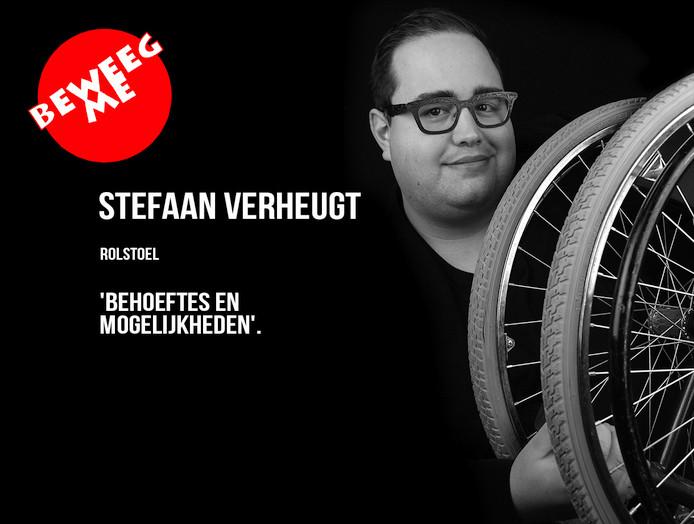 Stefaan Verheugt, een van de mensen die Annemarieke van Peppen portretteerde.