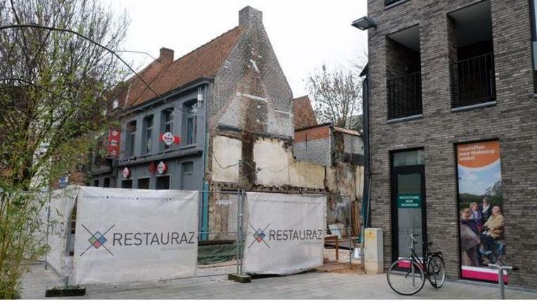 Café Hermana is helemaal gesloopt. Dat was niet de bedoeling.