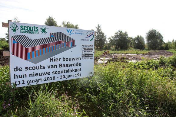 De Scouts zijn in Baasrode recent aan hun nieuwbouw begonnen.