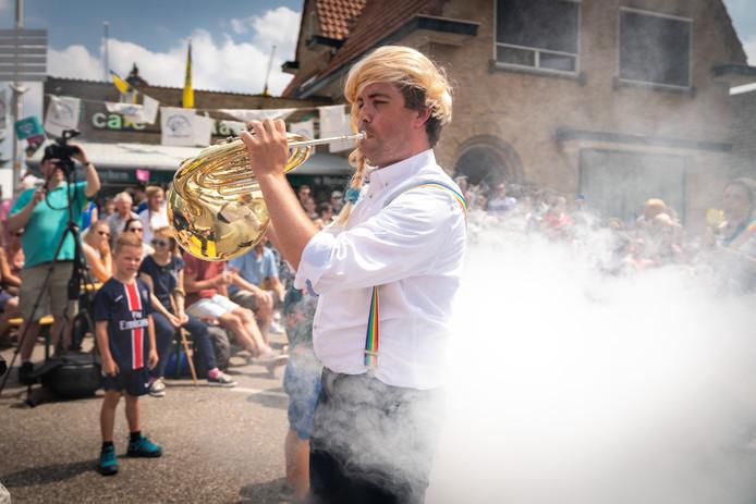 De Deurdweilers uit Angeren op de Bemmelse Dweildag in 2018.