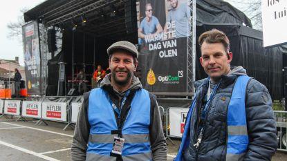 Bartel en Stijn organiseren De Warmste Dag van Olen