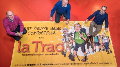Na 15 jaar dromen nu écht naar Compostela