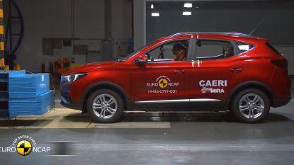 Hoe veilig is de Chinese MG ZS EV? EuroNCAP doet de test