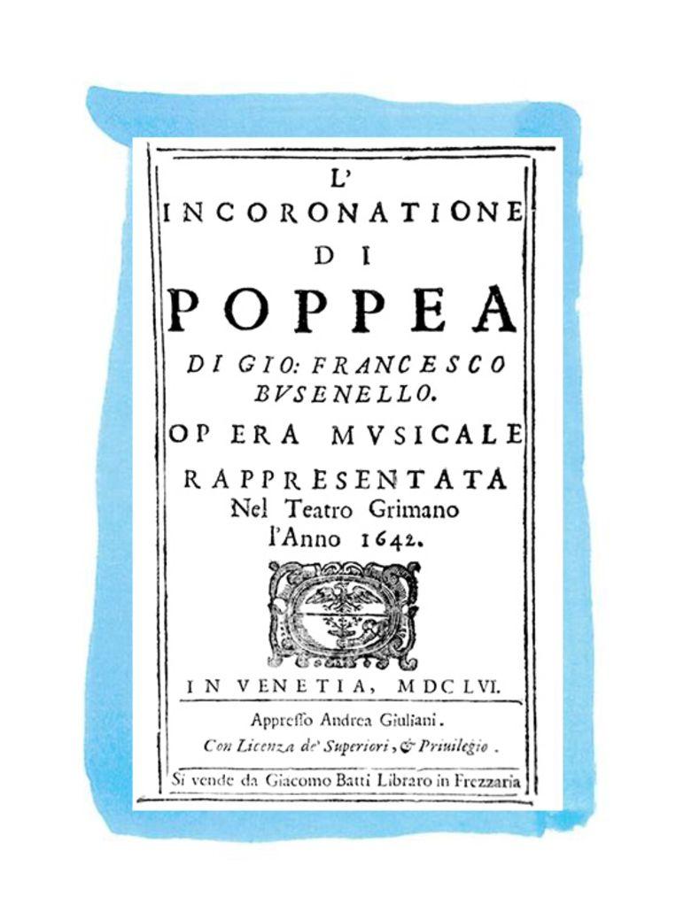 L'incoronazione di Poppea (1642) Beeld