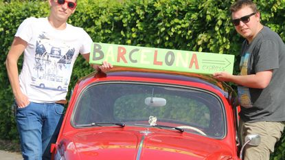 Kevin en Pieter nemen deel aan Barcelona Express