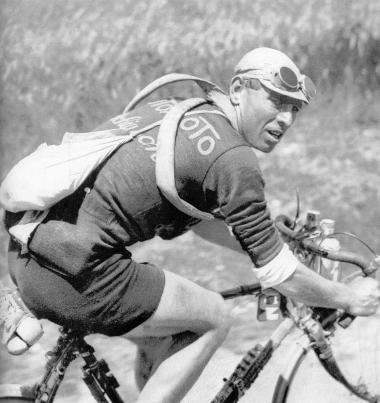 Lucien Buysse in de Tour van 1914.