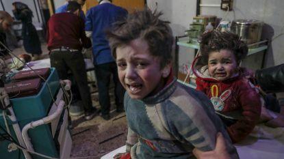 """Opnieuw meer dan honderd burgerdoden in Oost-Ghouta: """"Dit is geen oorlog meer, dit is een slachtpartij"""""""